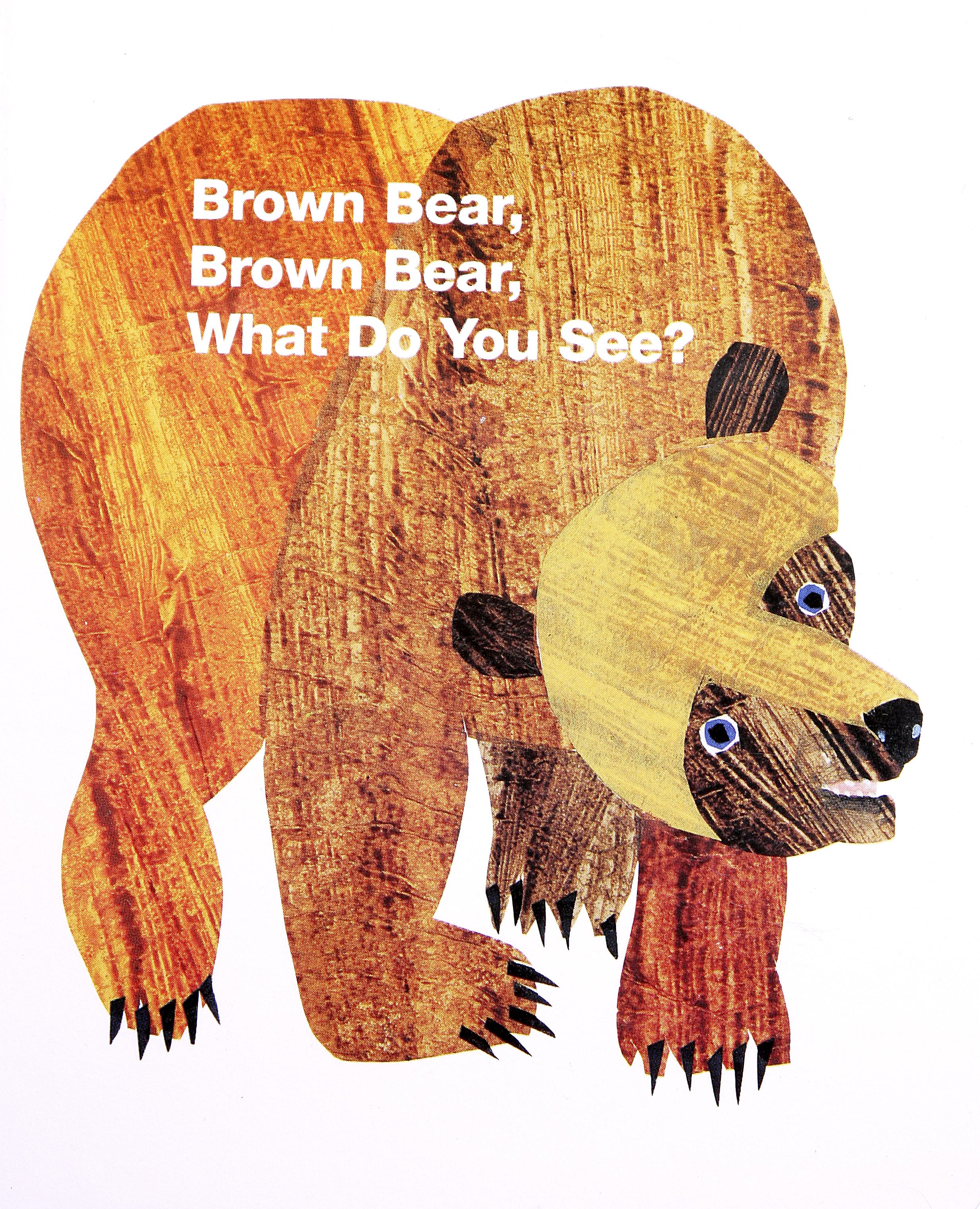 Eric Carle Brown Bear PNG - 132563
