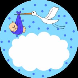 erkek_bebek_etiket - Erkek Bebek PNG