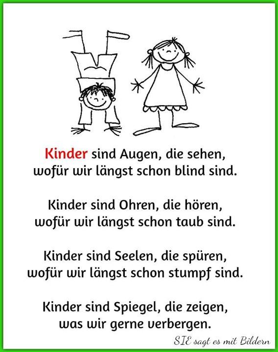Kinder sind Augen.