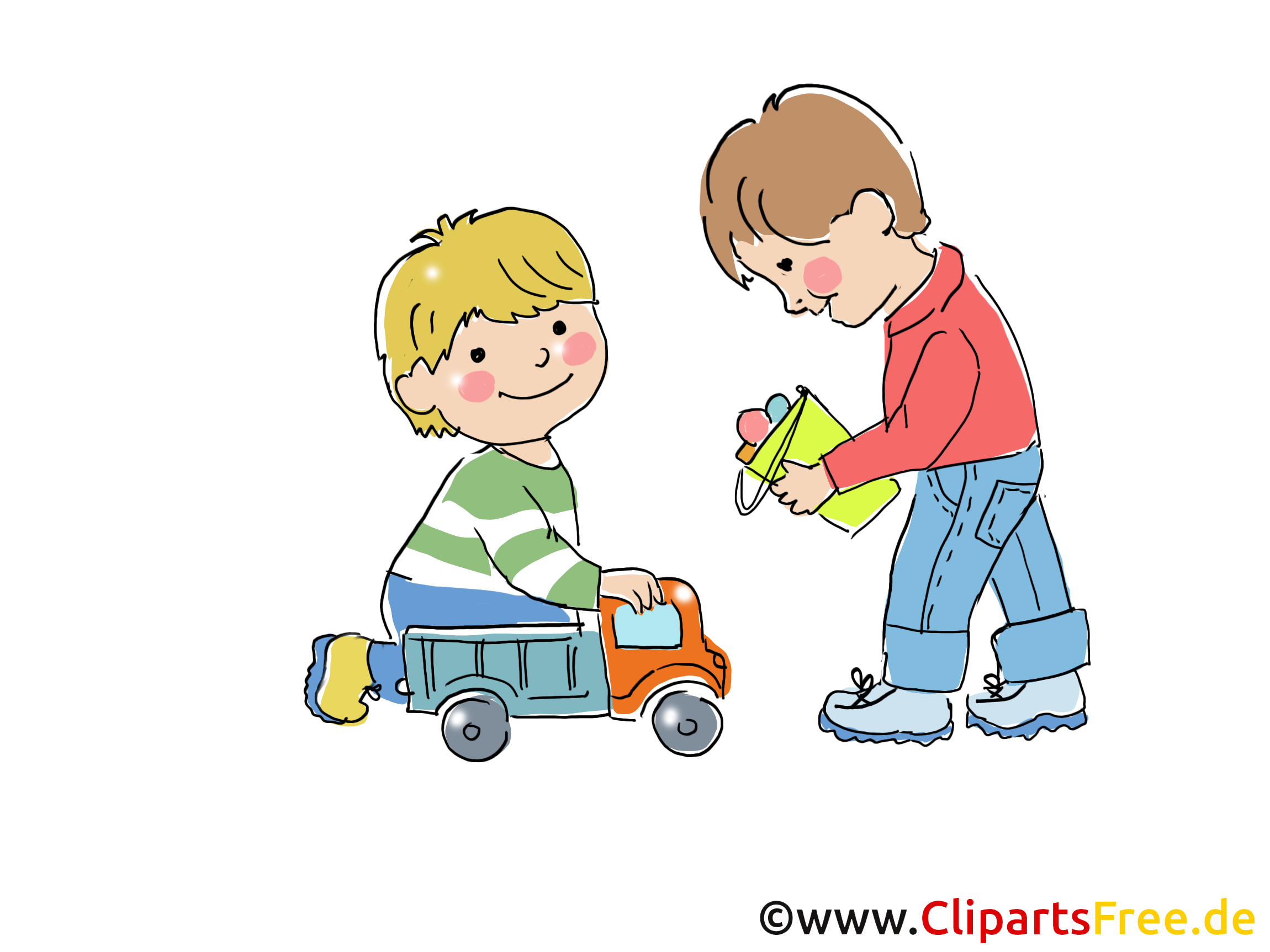 Kindergarten Bilder, Cliparts