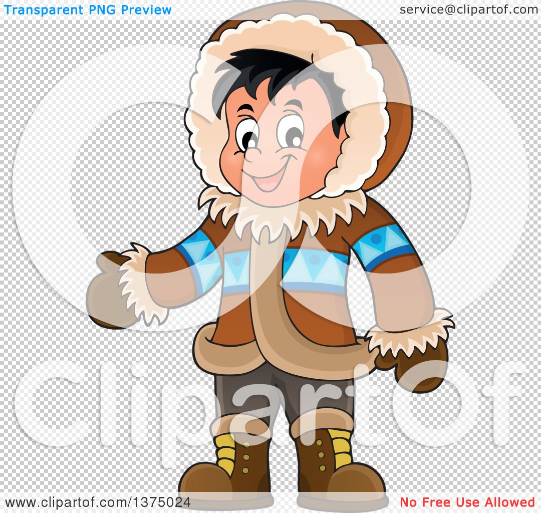 PNG file has a PlusPng.com  - Eskimo PNG Free