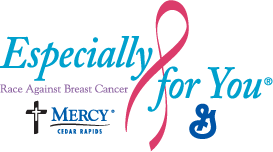 Especially For You®, Race Against Breast Cancer, Mercy, Cedar Rapids - Especially For You PNG