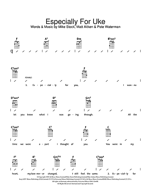 Especially For You Sheet Music - Especially For You PNG