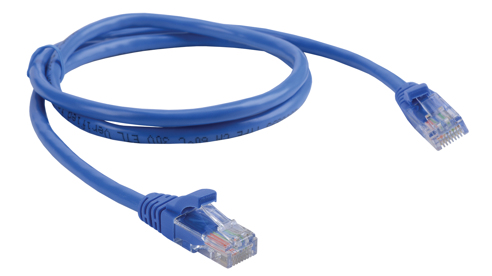 LAN Solutions Category 5e U/UTP pre-made patch cable - Ethernet Cable PNG