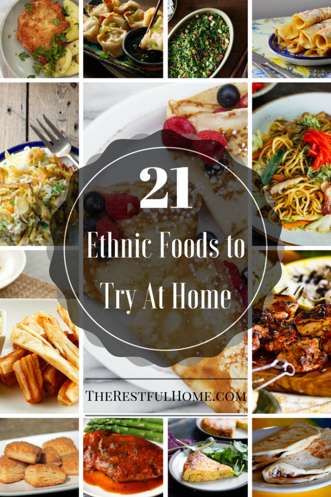 21 ethnic foods to try at home - Ethnic Food PNG