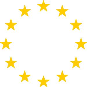 European Stars Clip Art - Eu Flag PNG