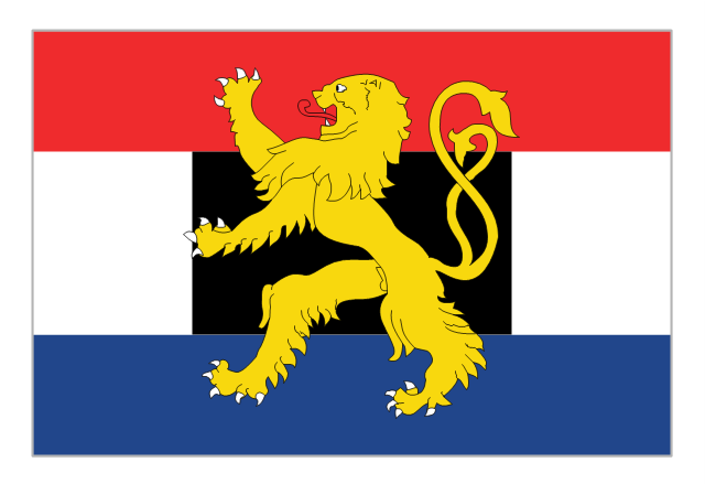 Flag of Benelux, Benelux, - Europa Vector Flag PNG