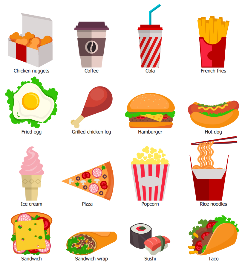 Fast Food Library - Examples Of Go Foods PNG