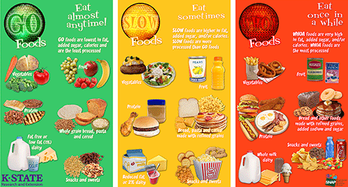 Examples Of Go Foods PNG - 64165