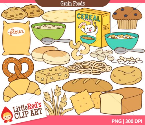 pin Bread clipart example go food #1 - Examples Of Go Foods PNG