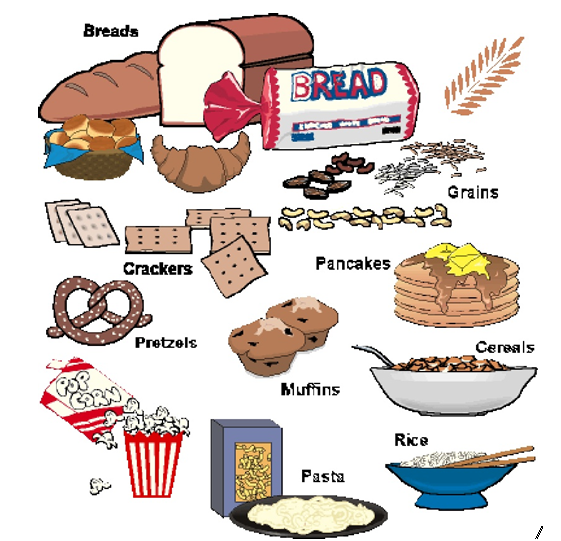 The thing is, go foods are very essential for everyday consumption. Grains  are Go foods; they help you run, jump and play all day.(Rich in  Carbohydrates) - Examples Of Go Foods PNG