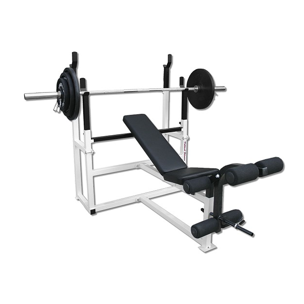 Deltech Fitness Olympic Squat Combo Bench [DF1050] - Exercise Bench PNG