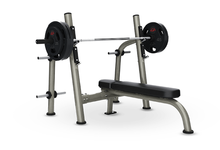 Olympic Flat Bench - Exercise Bench PNG