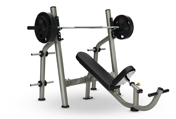 Olympic Incline Bench - Exercise Bench PNG