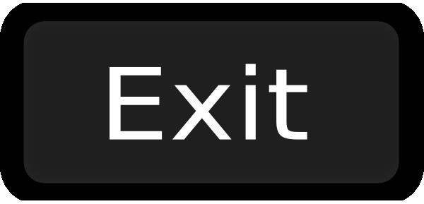 Exit Button PNG - 154136