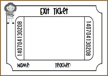 Exit Ticket PNG - 62444