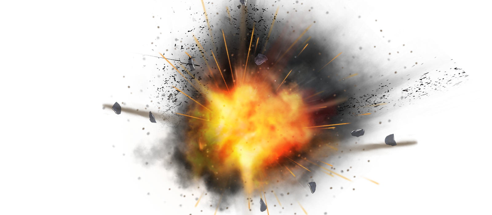 Explosion PNG HD