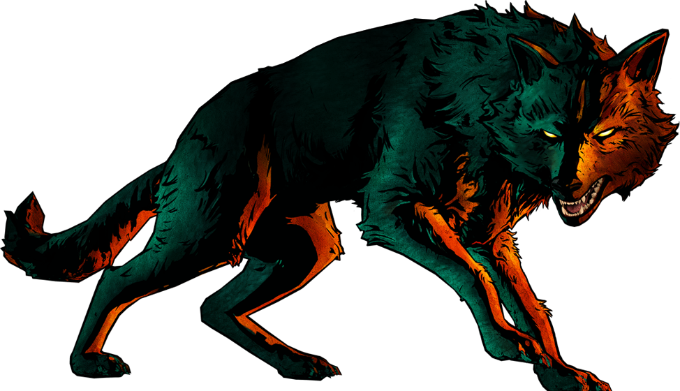 CW Bigby Full Wolf Promo.png - Fables PNG