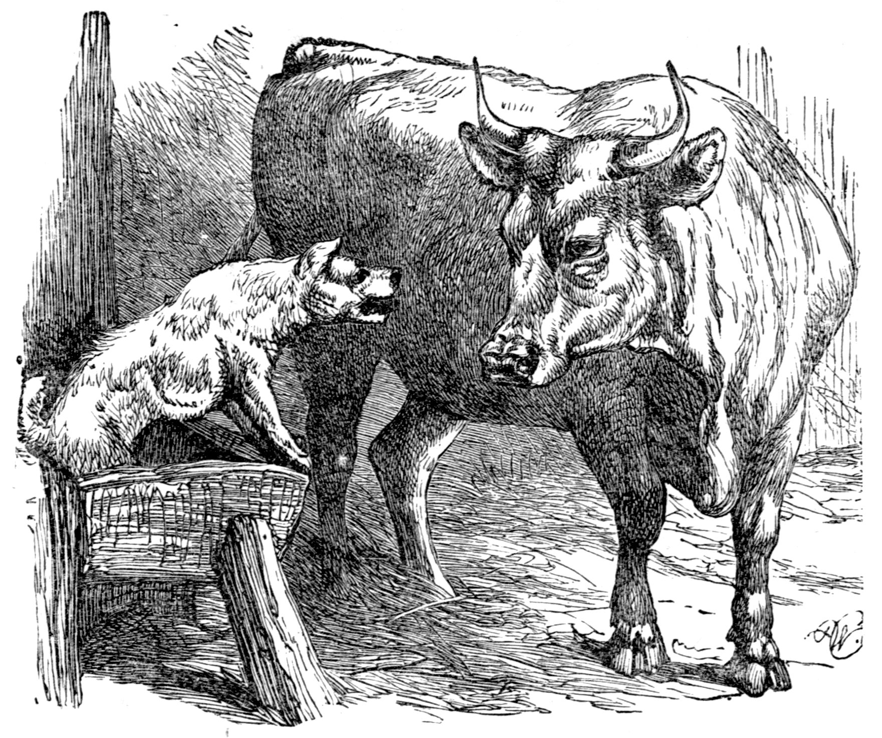 File:Page 47 illustration to Three hundred Aesopu0027s fables (Townsend).png - Fables PNG