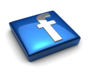 Facebook Logo Glass 3d Png Hd - Facebook HD PNG
