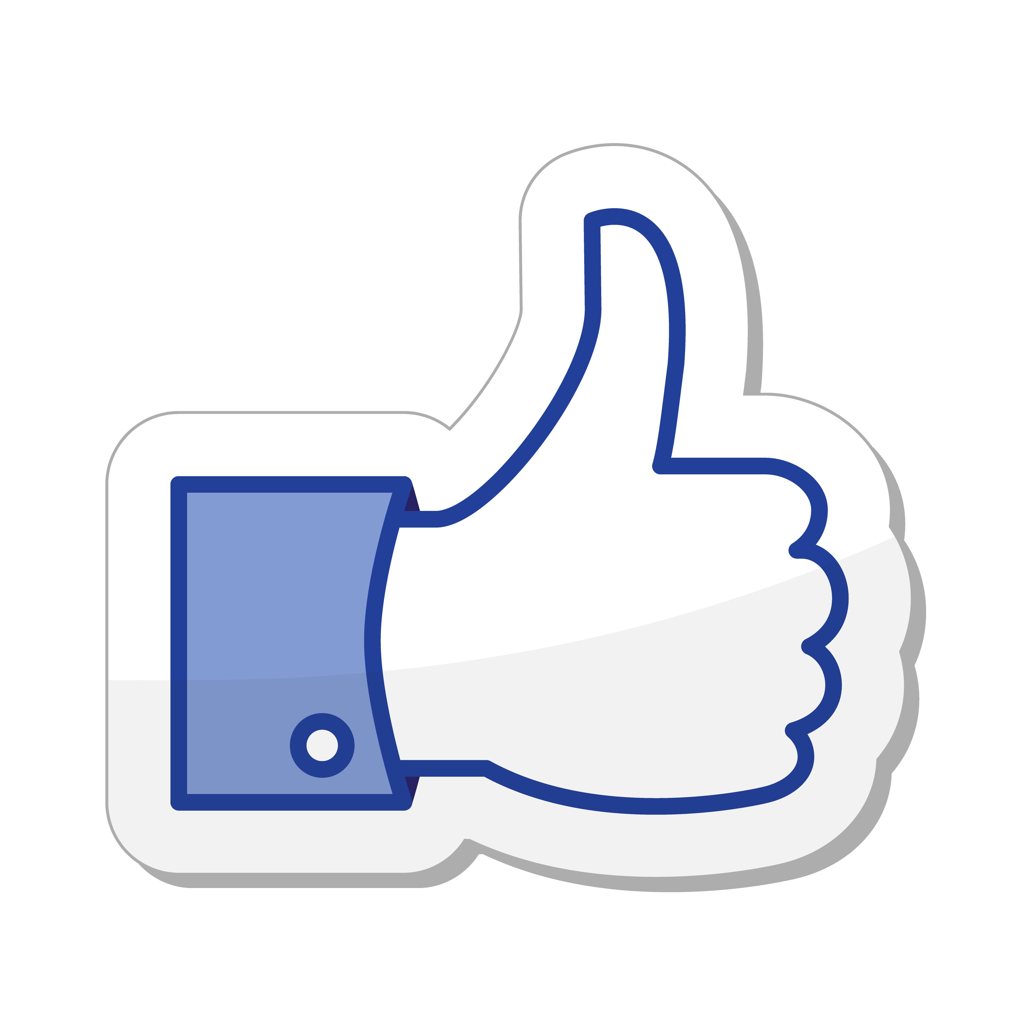 Facebook Like PNG - 32679
