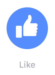 Facebook Enhances Everyoneu0027s Like With Love, Haha, Wow, Sad, Angry Buttons  | TechCrunch - Facebook Like PNG