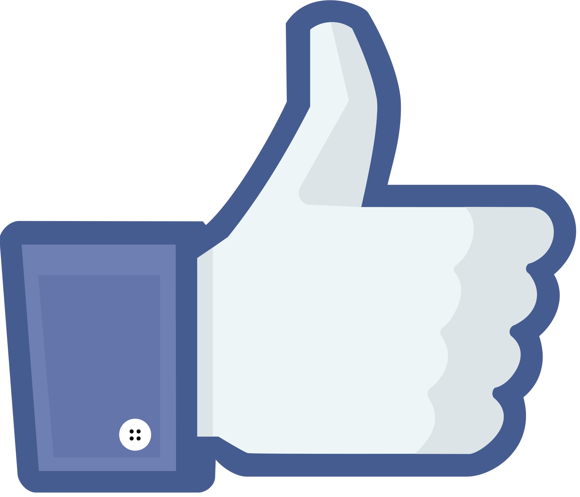 Facebook Like PNG Photo