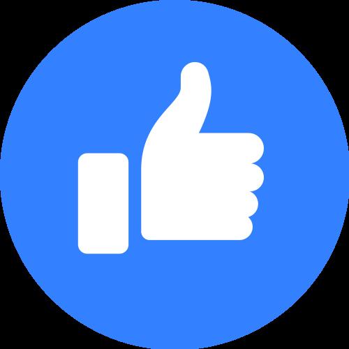 Facebook Like PNG - 32685