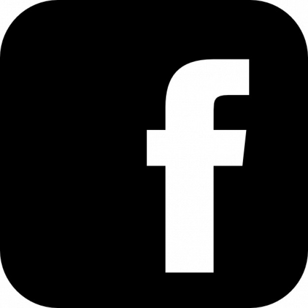 Facebook logo vector .
