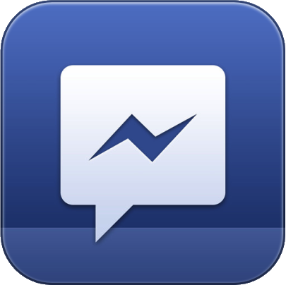 Facebook Messenger icon old.png - Facebook Messenger PNG