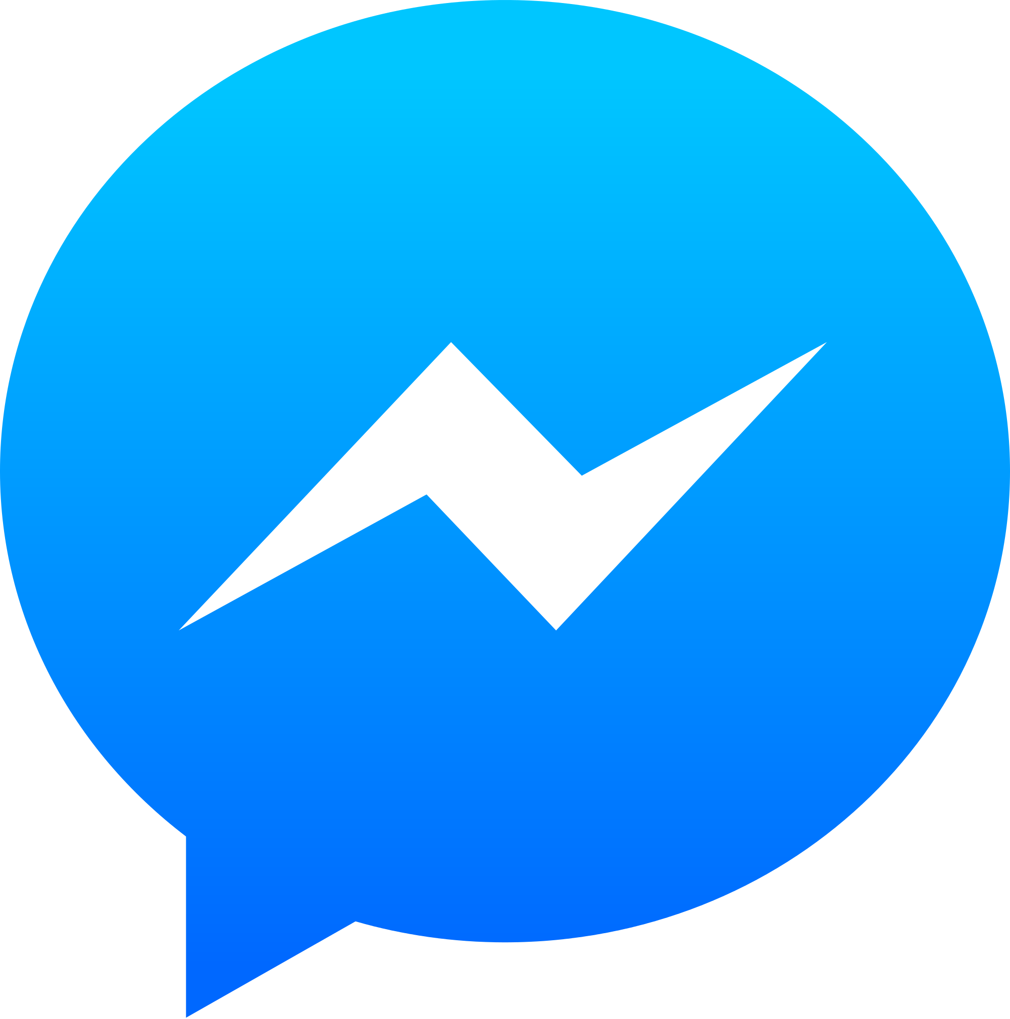 Facebook Messenger PNG
