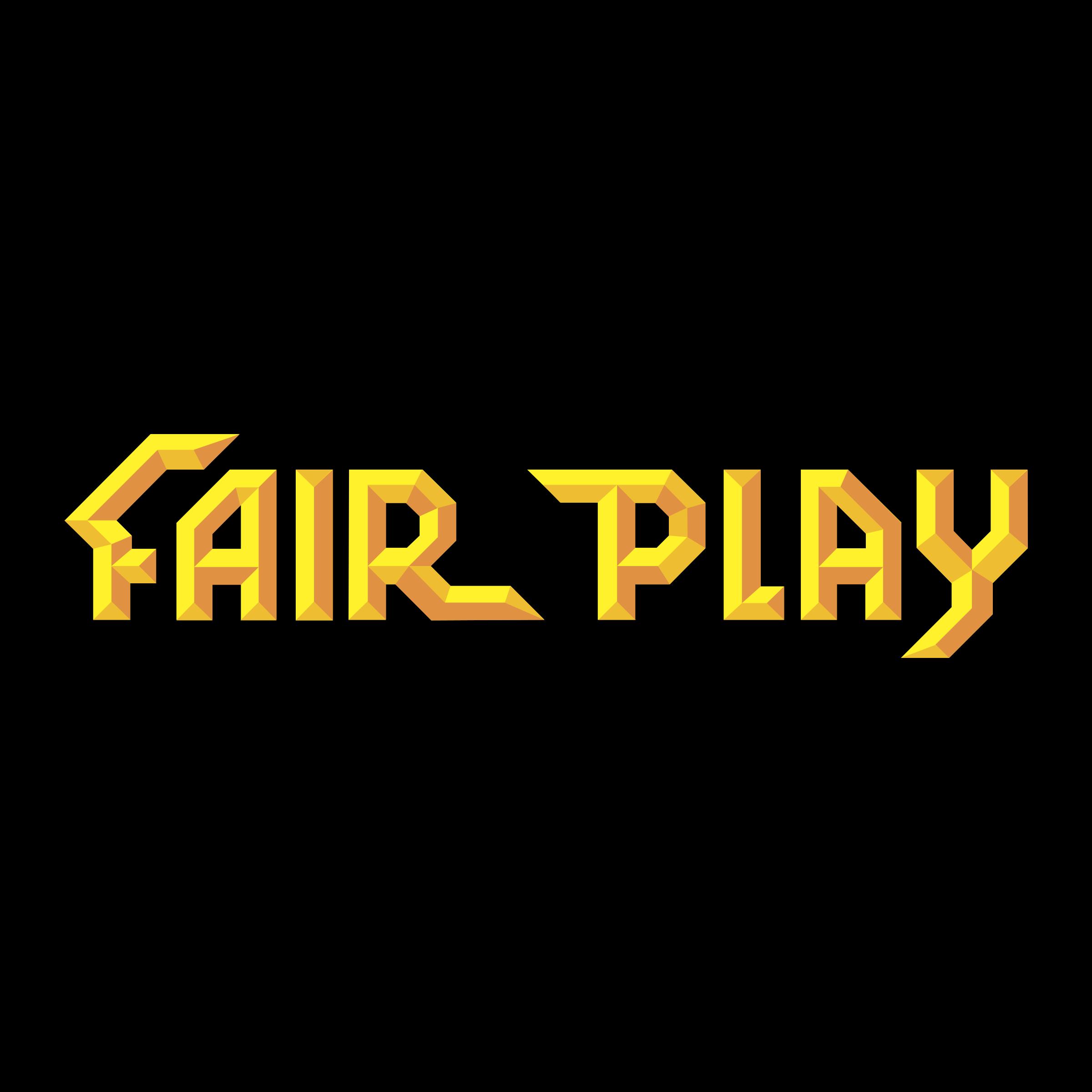 Fair Play Casinou0027s Logo Black And White - Fair PNG Black And White
