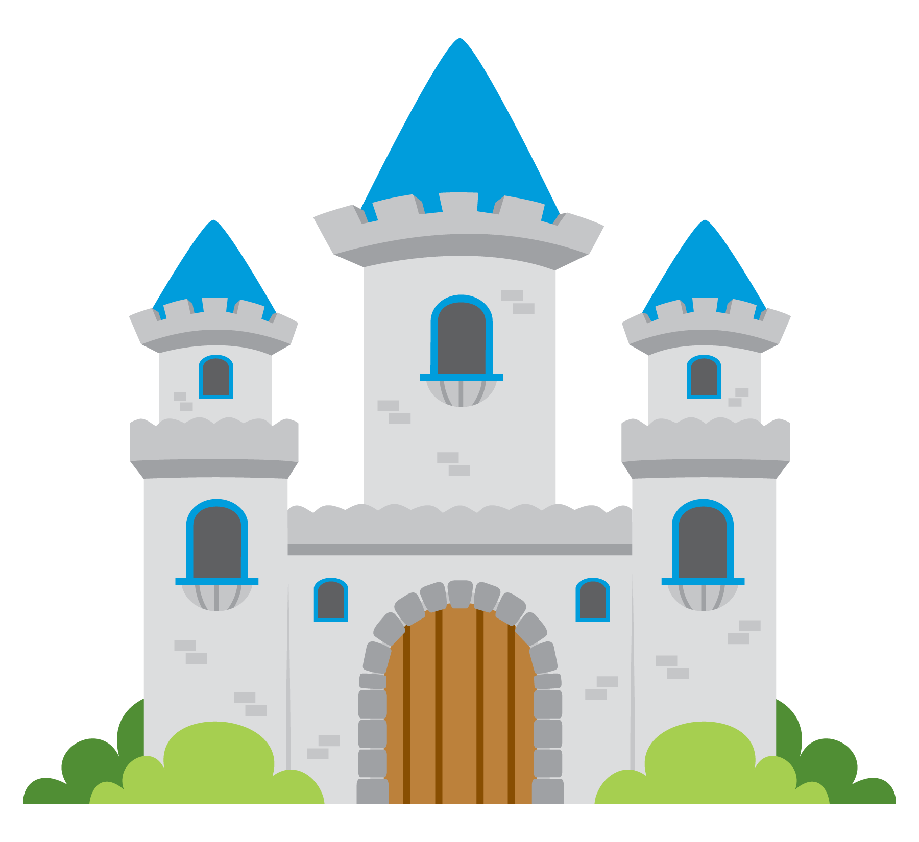 Pink castle - Fairytale HD PNG
