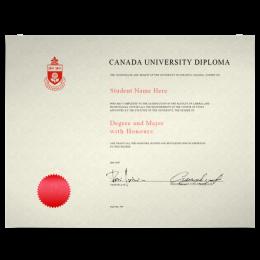 Fake College Diploma Canada - Fake Degree PNG