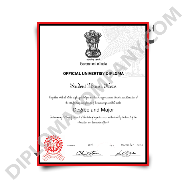 Fake Diploma India - Fake Degree PNG