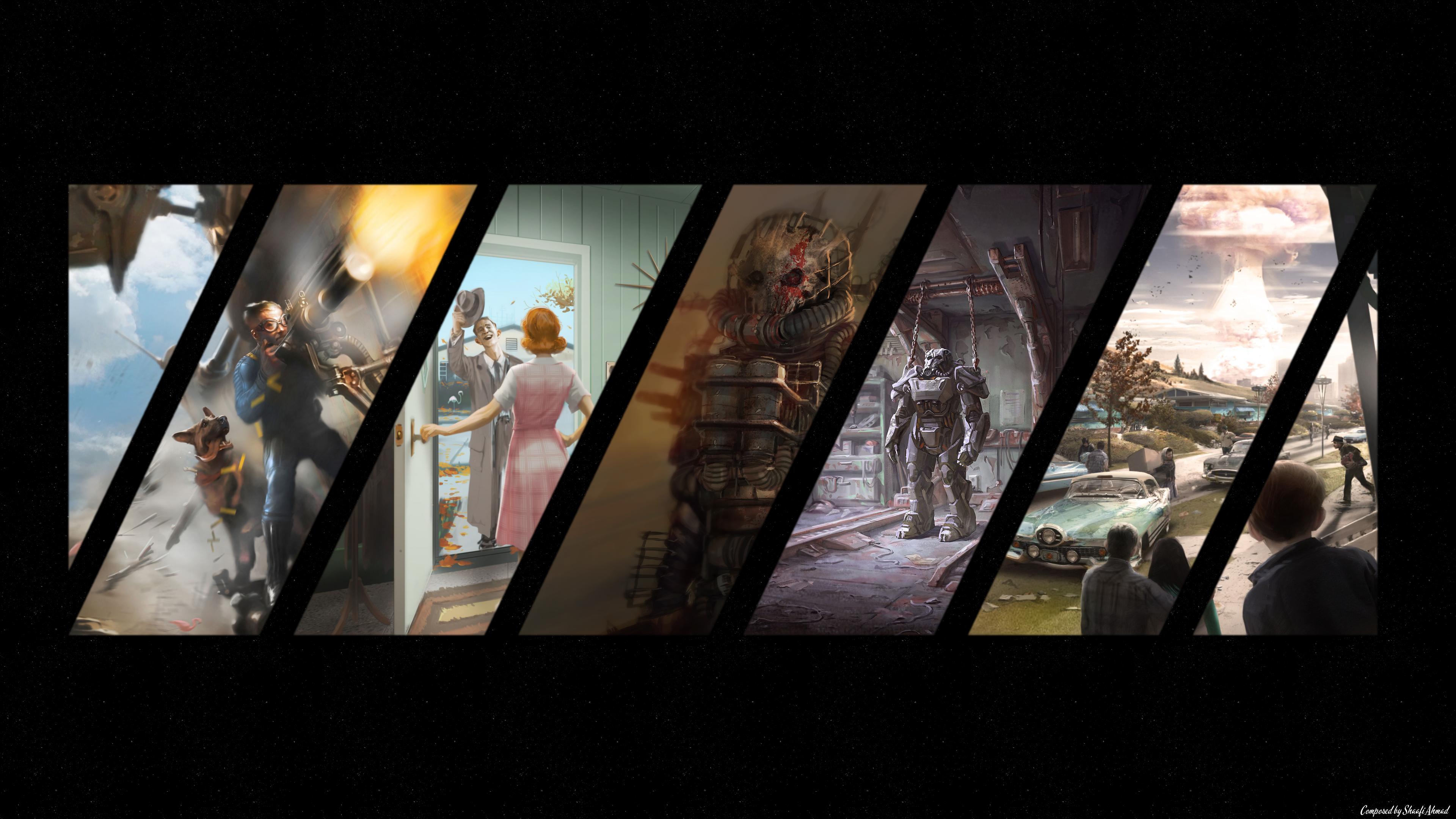 Fallout 4 HD Wallpaper - Fallout 4 HD PNG