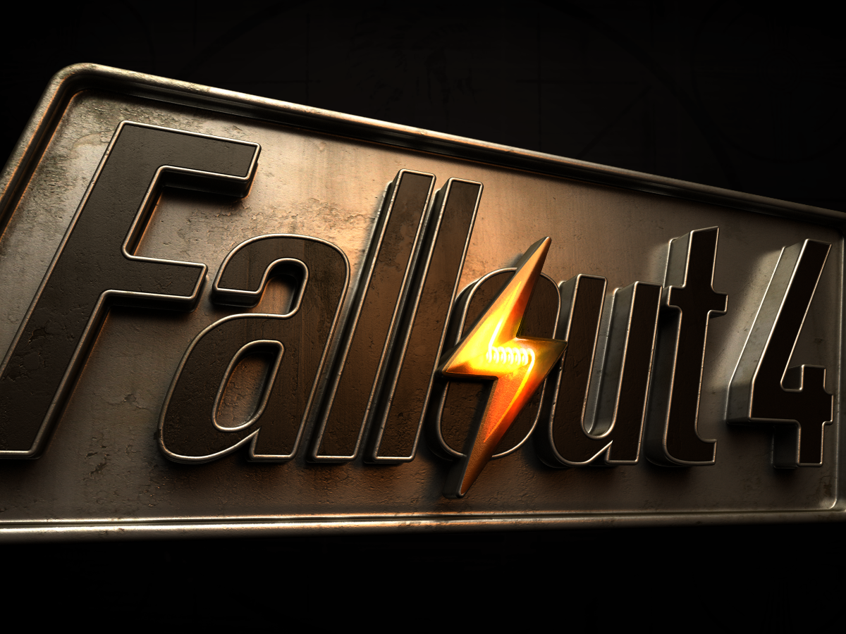Fallout4 logo 02 - Fallout 4 HD PNG