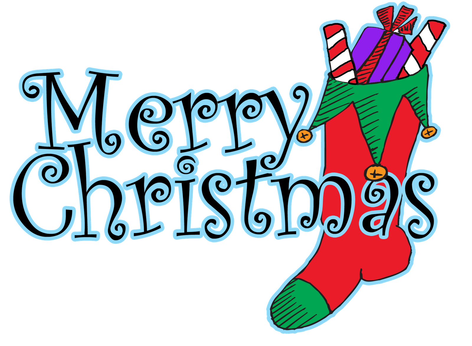Merry Christmas Clip Art Words | HD Wallpaper And Download Free - Family Day PNG HD Free