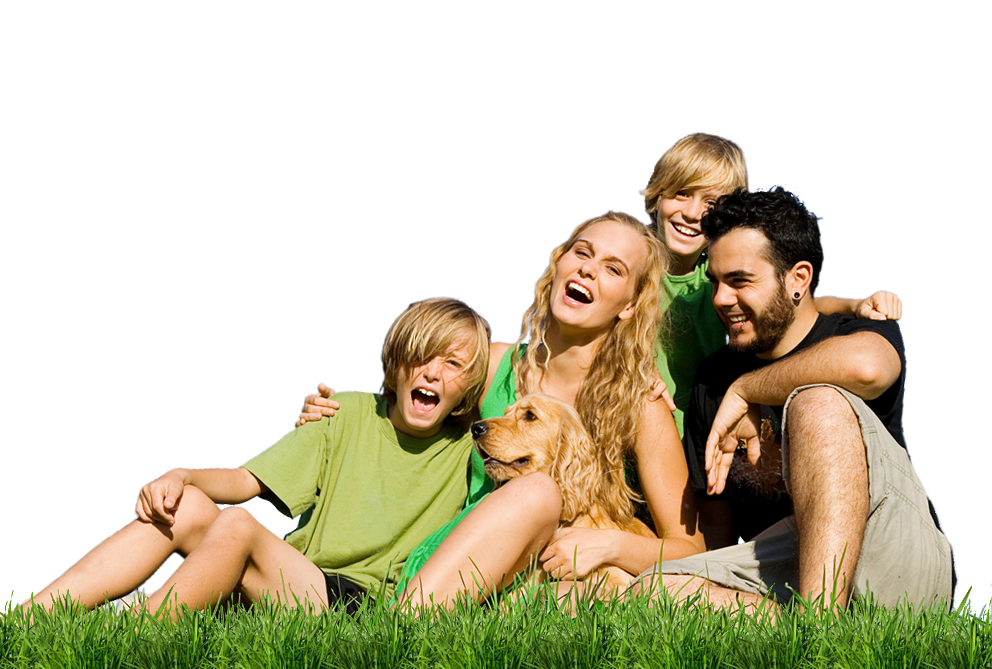 Happiness is a healthy Home lifestyle - Family HD PNG