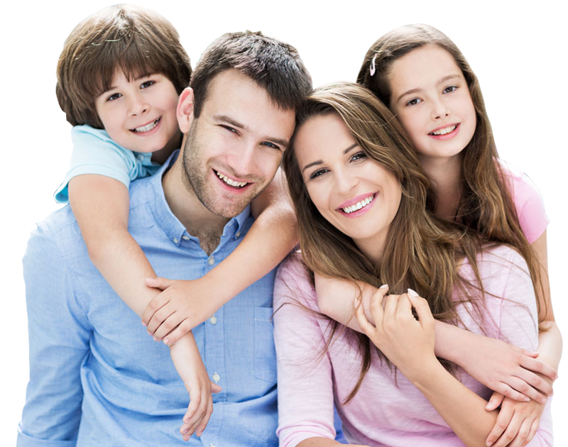 Happy family smiling - Family HD PNG