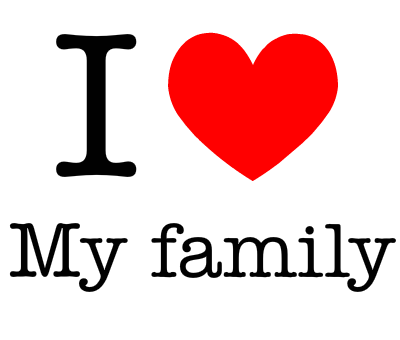 Best images of i love kids the gallery for i love family signs images of i - Family Love PNG HD