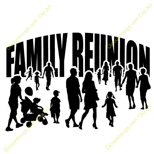 Family Reunion Pictures Clip Art 02 - Family Reunion PNG