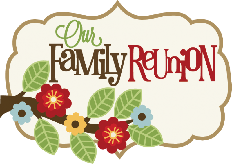 Our Family Reunion SVG scrapbook title family svg scrapbook title free svg  cuts - Family Reunion PNG