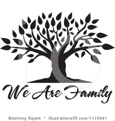 Blank Family Tree Clip Art | Family Tree Clipart #1115561 by Johnny Sajem |  Royalty - Family Reunion Tree PNG