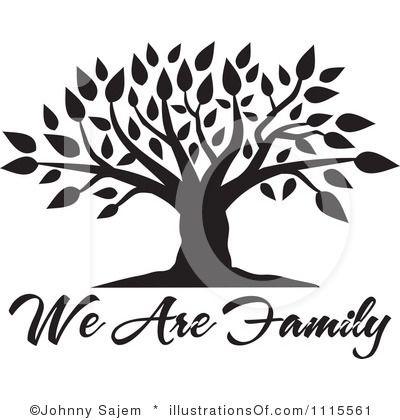 Blank Family Tree Clip Art | Family Tree Clipart #1115561 By Johnny Sajem |  Royalty - Family Reunion Tree PNG