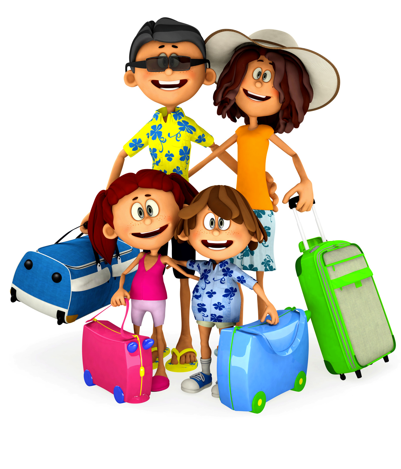 Family Vacationing - Family Vacation PNG