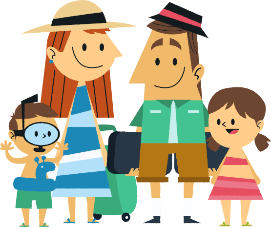 pin Vacation clipart family travel #3 - Family Vacation PNG