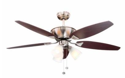 Hamptom Bay Carrolton Ceiling Fan u2013 $55.90 ($69.88) - Fan HD PNG