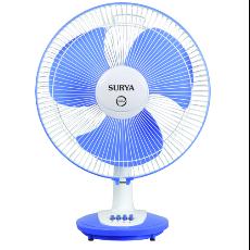 Surya Grande GT 20 3 Blade Table Fan - Fan HD PNG