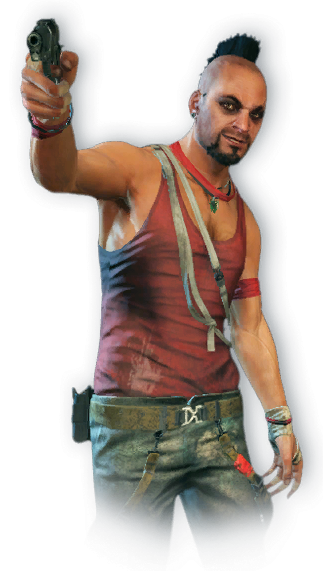 FC3 cutout vaas.png - Farcry HD PNG